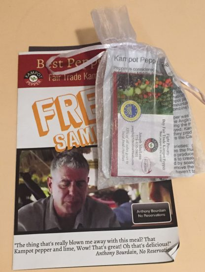 Kampot Pepper Swag Bag